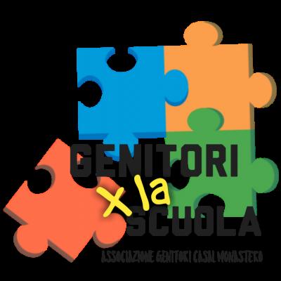 GENITORI X LA SCUOLA Logo